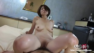 Hairy Japanese Asian of age - Point-Of-View hardcore