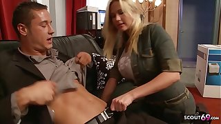 Fat Bouncing Tits Nympho Craftswoman Seduce in the air Fuck going forward