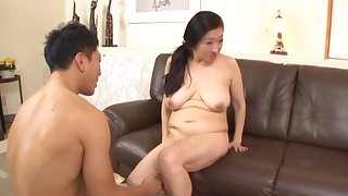 Dirty Japanese grown-up gets undressed and fucked by a foreigner