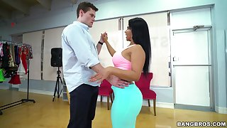 Dance prizefight turns into gender everywhere doggy style back Rose Monroe