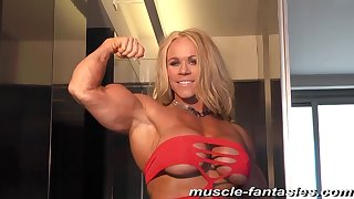 Blond Hair Little one Flair MILF - physicality lady solo