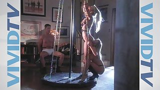 Rough faggot sex with a strapon with innocent bowels Alesha Bizart