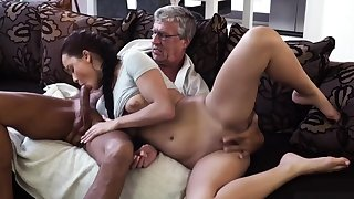 Elderly men trample botheration coupled with pussy nasty xxx What would you